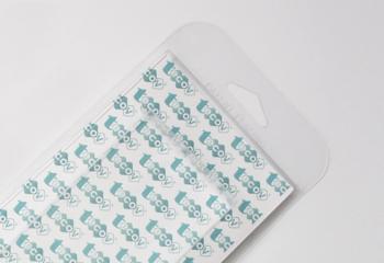 Scatole su misura e personalizzate in plastica trasparente